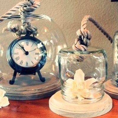 8 Creative DIY Cloche Jars ...