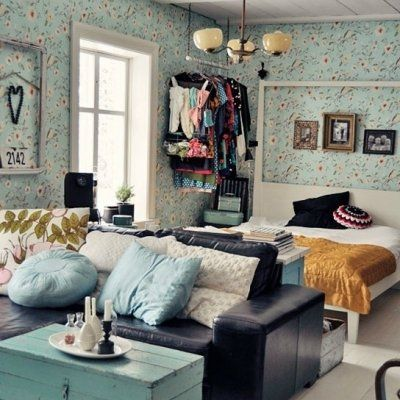 Use Creative Tricks to Decorate Small Spaces and Studios ...
