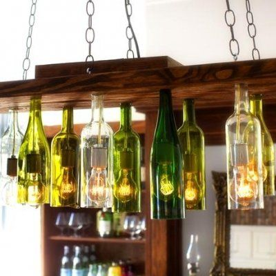 UpCycle Old Wine Bottles for Creative Home Decor ...
