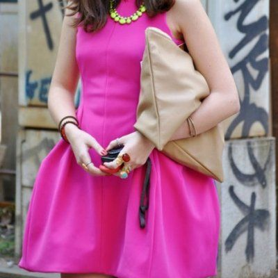 23 Bright Pink Dresses That Will Rock Your World ...