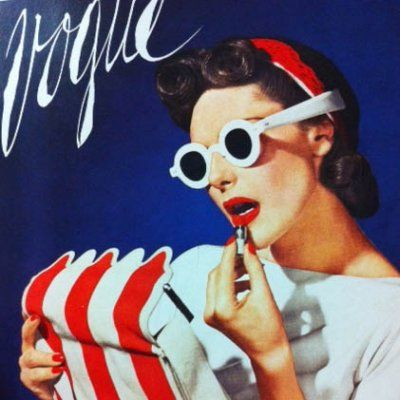 Ring out the Old! You Have to See These Vintage Fashion Magazine Covers ...