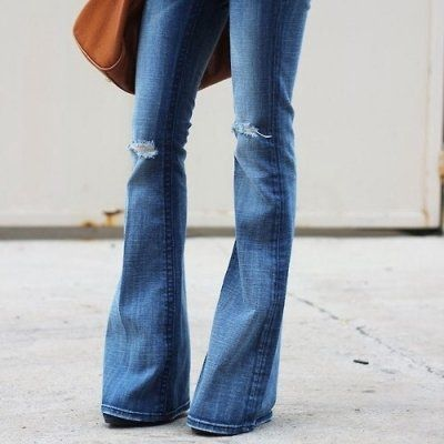 Let's Bring the 70s Back! Here Are 25 Ways to Wear Flared Jeans ...