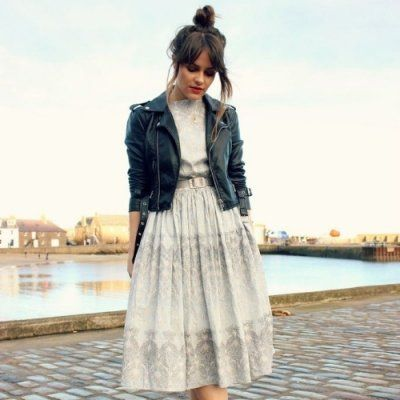 24 Ways to Wear Dresses in the Fall ...