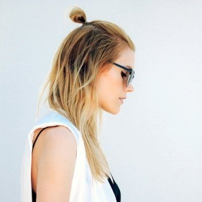 25 Becoming Ways to Wear a Bun ...