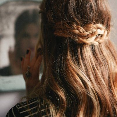 7 Half-up Hairstyles for Fall ...