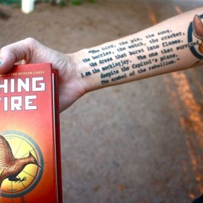 7 Hunger Games Tattoo Ideas for Huge Fans ...