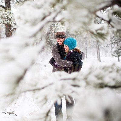 Snowy Days Are Made for Romantic Dates ...