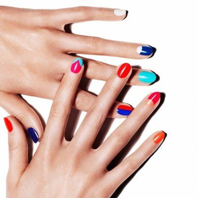 Here's How to Take the Color Blocking Trend to Your Nails ...
