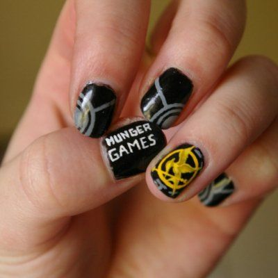 Hunger Games Fans Unite: 30 of the Coolest Nail Art Deisgns Ever ...