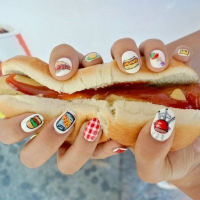 27 Food Nail Art Designs That Will Make You Really Hungry ...