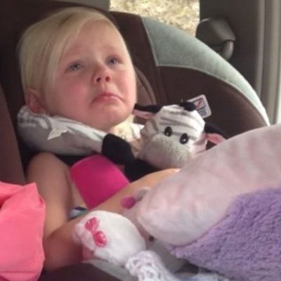 Adorable Baby Girl Gets Really Emotional While Watching a Cartoon ...