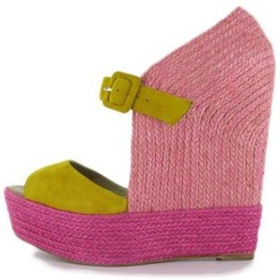 4 Gorgeous Fuchsia Christian Louboutin Platform Shoes ...