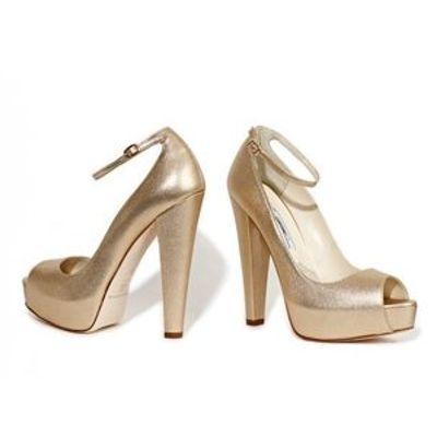 7 Fabulous Metallic Brian Atwood Platform Shoes ...
