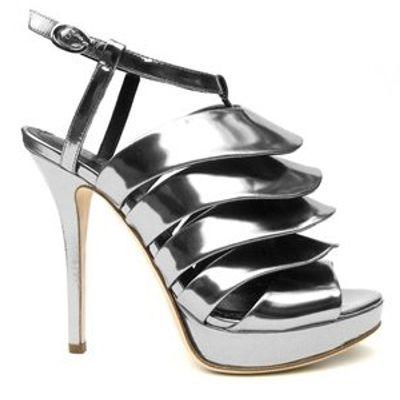 6 Gorgeous Metallic Jerome C. Rousseau Platform Shoes ...