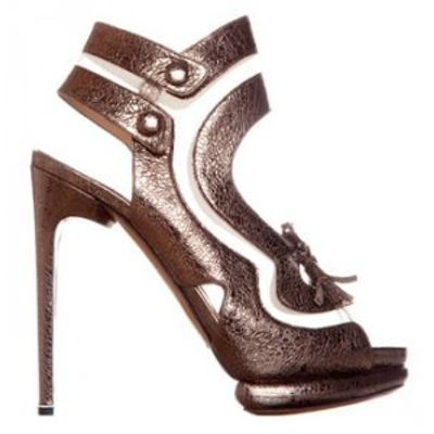 6 Glamorous Metallic Nicholas Kirkwood Platform Shoes ...