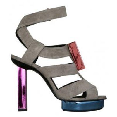7 Chic Metallic Pierre Hardy Platform Shoes ...