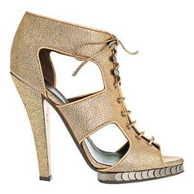 4 Stylish Metallic Roberto Cavalli Platform Shoes ...
