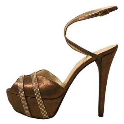4 Fabulous Metallic Stuart Weitzman Platform Shoes ...