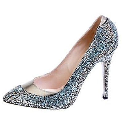 4 Gorgeous Metallic Arfango Pump Shoes ...