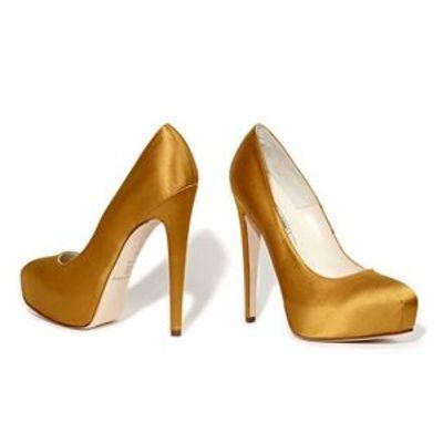 4 Fabulous Metallic Brian Atwood Pump Shoes ...