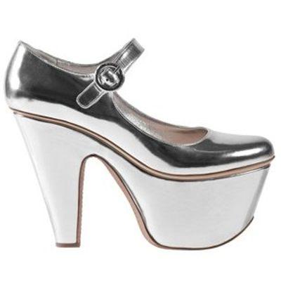 5 Glamorous Metallic Prada Pump Shoes ...