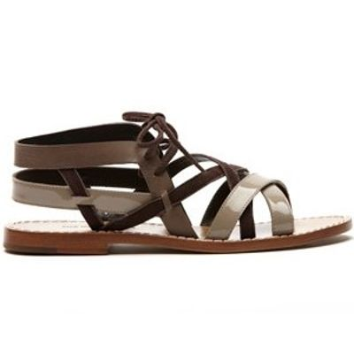 5 Chic Gray Tila March Sandals ...