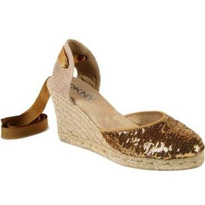 6 Stylish Metallic DKNY Sandals ...