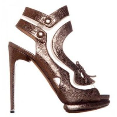 4 Fabulous Metallic Nicholas Kirkwood Sandals ...