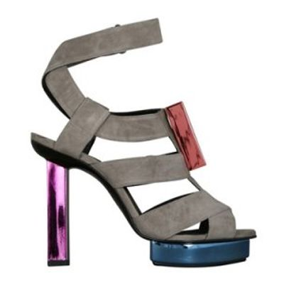 10 Beautiful Metallic Pierre Hardy Sandals ...
