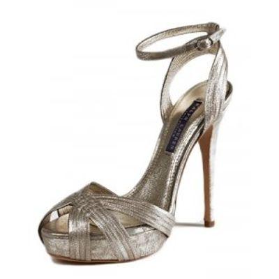 5 Chic Metallic Ralph Lauren Sandals ...