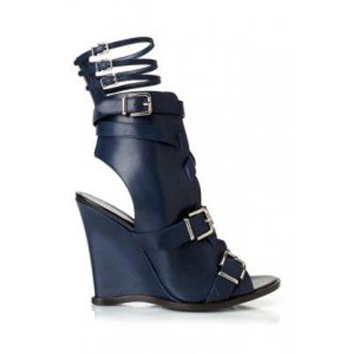 4 Gorgeous Navy Altuzarra Sandals ...