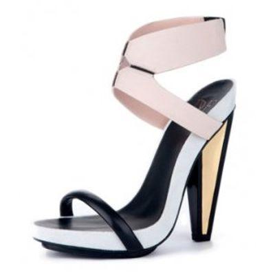 4 Beautiful Pastel Diane Von Furstenberg Sandals ...