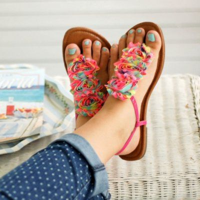 Ways to Decorate Your Flip Flops to Make Them More Fashionable ...