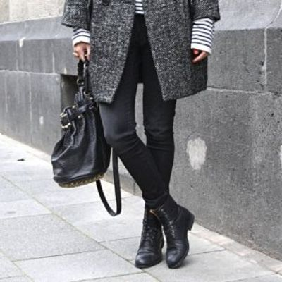 7 Streetstyle Ways to Wear Combat Boots ...