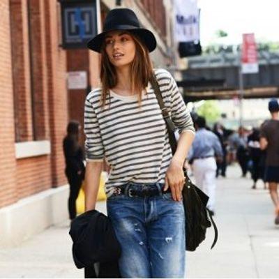 7 Streetstyle Ways to Wear Boyfriend Jeans ...
