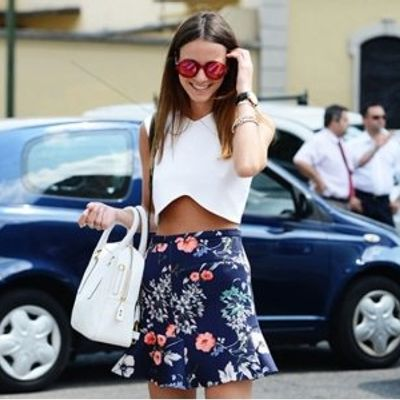 7 Streetstyle Ways to Wear a Crop Top ...