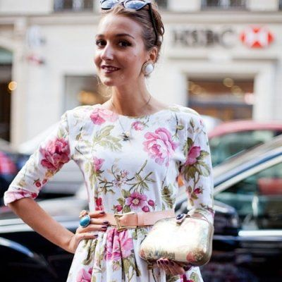 9 Street Style Floral Outfits to Recreate This Summer ...