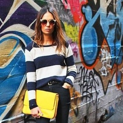 7 Streetstyle Ways to Wear Stripes and Look Fab ...