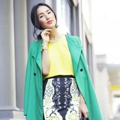 7 Awesome Graphic Pencil Skirt Outfits to Recreate ...