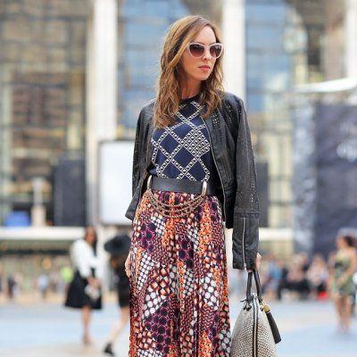 7 Street Style Ways to Wear a Draped Jacket ...
