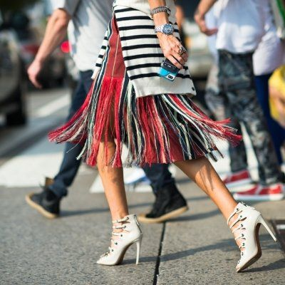 7 Street Style Ways to Wear Fringes This Summer ...