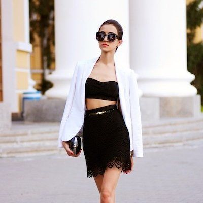 7 Street Style Ways to Wear Bandeaus This Summer ...