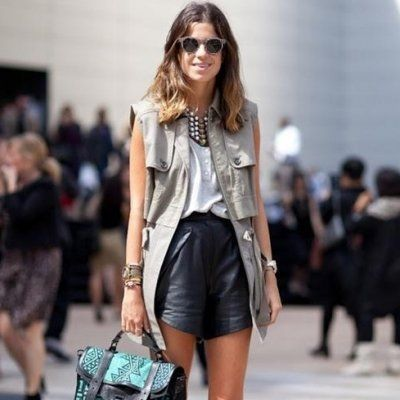 7 Street Style Ways to Wear Leather This Summer ...