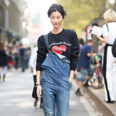 Street Style Ways to Wear Overalls in Fall ...