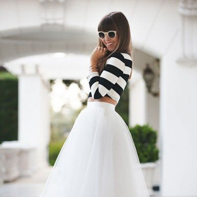 7 Street Style Outfits with Tulle Skirts to Recreate ...