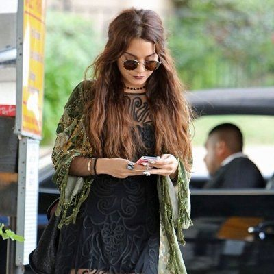 7 Boho Street Style Outfits from Vanessa Hudgens You'll Love ...