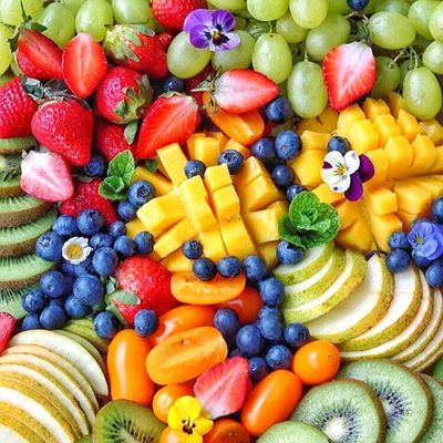The Best 🙌🏼 Fruits and Veggies 🍊🥒 for Your Body 💃🏼 ...