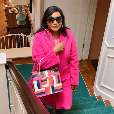 Get a Little Fashion Inspo from Mindy Kaling's Lookbook ...
