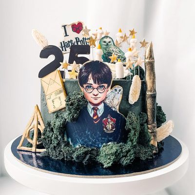 Harry Potter ⚡️ Themed Wedding Cakes 🍰 for the Nerd 🤓 in You ...