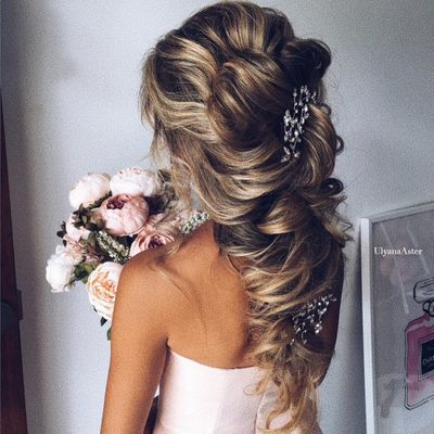 10 Gorgeous  Hair Inspirations  for Girls Tying the Knot  ...